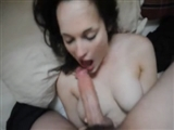 Cutie Amateur Girlfriend Sucking Dick on Video