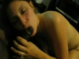 White Woman Sucks a Big Black Cock so Good