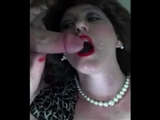 British Wife Enjoys Cumshot Facial