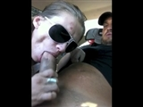 She Blows His Dick until He Finishes in Her Mouth