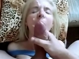 Amateur Wife Homemade Facial in Slow Motion