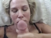 Super Hot Mature Wife with Big Tits Gets a Huge Facial